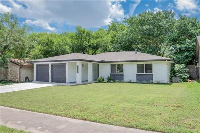 Austin Single Family Home For Sale: 10301 E Rutland Vlg