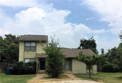 Bastrop County Multi Family Home Pending - Taking Backups: 124 Hillside Dr