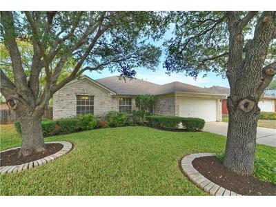 Cedar Park TX Single Family Home For Sale: $225,000