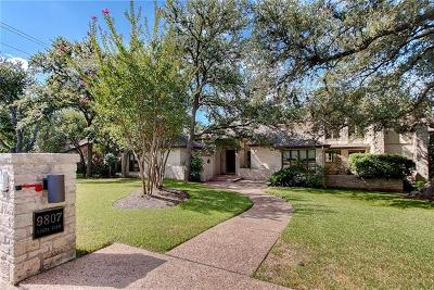 Austin Single Family Home For Sale: 9807 Vista View Dr