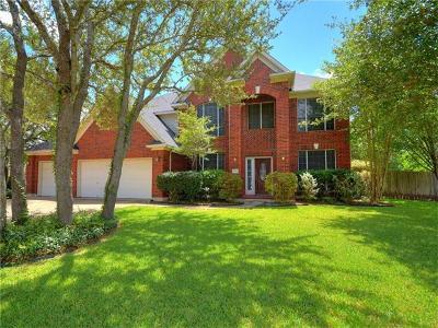 Austin Single Family Home For Sale: 15903 Ruel Cv