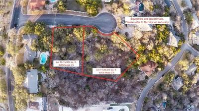 Austin Residential Lots & Land For Sale: 4003 Mesa Cv