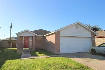 Lockhart Single Family Home For Sale: 1606 Gunnison Cv
