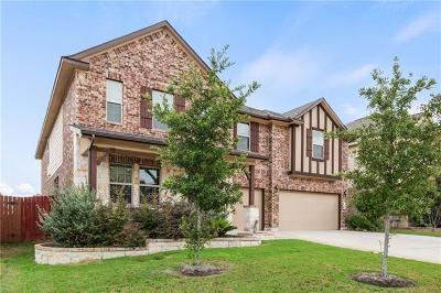Pflugerville Single Family Home For Sale: 18408 Copper Grassland Way
