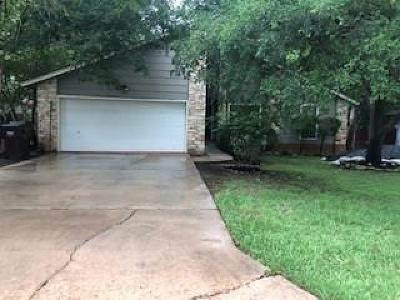 Hays County, Travis County, Williamson County Single Family Home For Sale: 606 Garden Path Dr