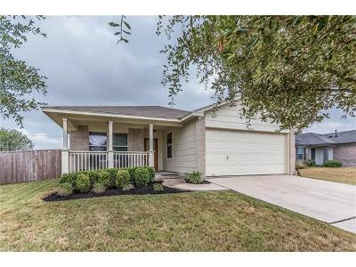 Hutto Single Family Home For Sale: 1014 Stewart Dr