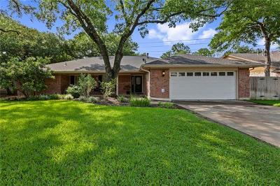 Single Family Home Pending - Taking Backups: 4107 Balcones Woods Dr
