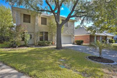 Round Rock Single Family Home For Sale: 1708 Bengal Dr