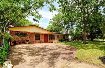 Travis County Single Family Home For Sale: 4909 Blueberry Trl
