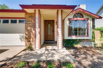 Austin TX Single Family Home For Sale: $288,500