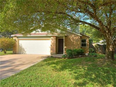 Austin Single Family Home For Sale: 3102 Foxton Cv