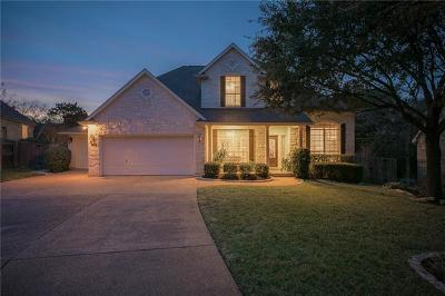 Travis County, Williamson County Single Family Home Pending - Taking Backups: 7309 Ellaview Ln