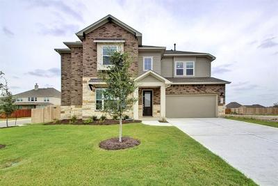 Round Rock Single Family Home For Sale: 6803 Verona Pl