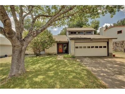 Austin Single Family Home Pending - Taking Backups: 11446 Morning Glory Trl