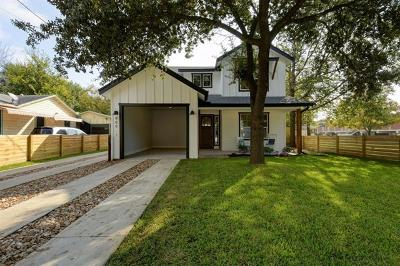 Austin Single Family Home Pending - Taking Backups: 909 Linden #1 #1