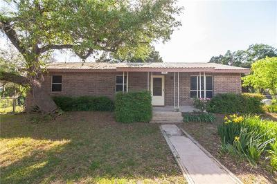 Leander Single Family Home Pending - Taking Backups: 1105 Lacy Dr