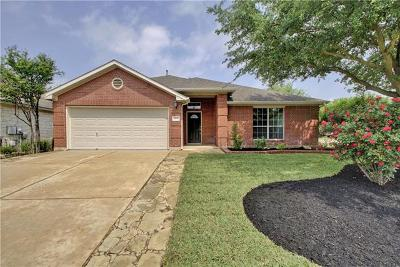 Round Rock Single Family Home Pending - Taking Backups: 4488 Heritage Well Ln