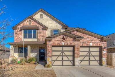Round Rock Single Family Home For Sale: 5932 Pescia St