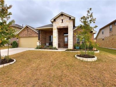 Leander Single Family Home For Sale: 704 Sawyer Trl
