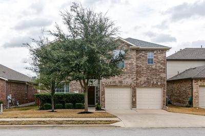 Round Rock Single Family Home For Sale: 3441 Shiraz Loop