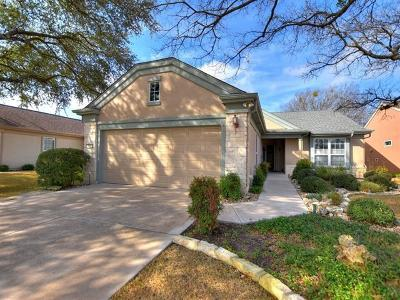 Georgetown TX Single Family Home Pending: $296,000