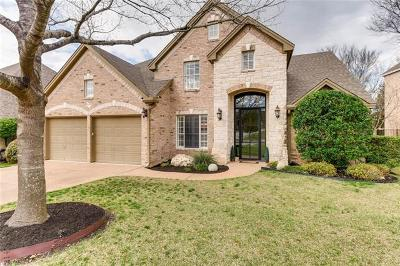 Round Rock Single Family Home Pending - Taking Backups: 1816 Bluffwood Pl