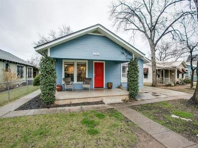 Austin Single Family Home For Sale: 2702 Willow St #A