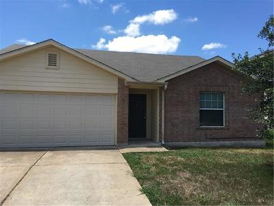 Hutto Single Family Home For Sale: 229 Phillips St