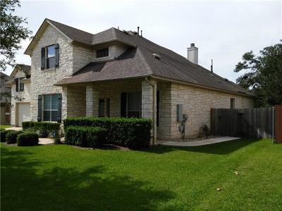 Round Rock Single Family Home For Sale: 3201 Goldenoak Cir