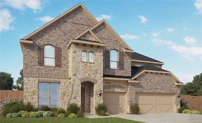 Leander Single Family Home For Sale: 1824 Cotton Farm Trl