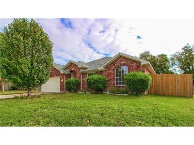 Pflugerville Single Family Home For Sale: 107 Plumbago Dr