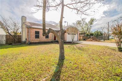 Pflugerville Single Family Home For Sale: 16305 Knottingham Dr