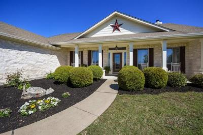 Liberty Hill Single Family Home Pending - Taking Backups: 612 Speed Horse