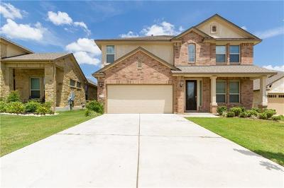 Leander Single Family Home For Sale: 2320 Jake Pickle Pass