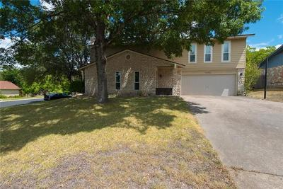 Travis County Single Family Home Pending - Taking Backups: 1039 Wisteria Trl