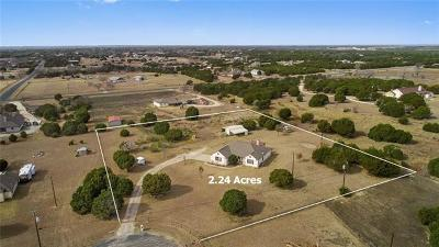 Liberty Hill Single Family Home Active Contingent: 161 Cara Cv