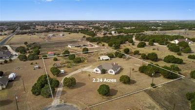 Liberty Hill Single Family Home For Sale: 161 Cara Cv