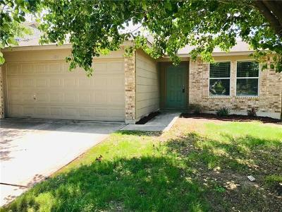 Hutto Single Family Home Pending - Taking Backups: 409 Ballentine Ct