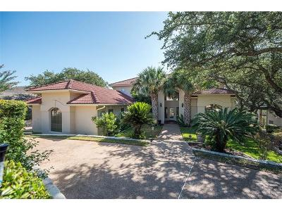 Lakeway Single Family Home For Sale: 220 Golf Crest Ln