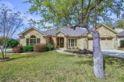 Cedar Park Single Family Home Pending - Taking Backups: 1507 Pendleton Dr