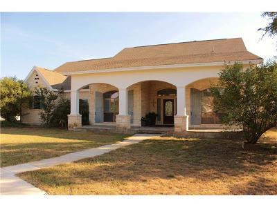 Burnet County Single Family Home For Sale: 203 Circle Oaks Dr