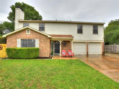Austin Single Family Home For Sale: 11612 Spotted Horse Dr