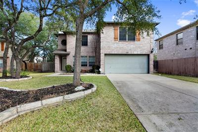 Cedar Park Single Family Home Pending - Taking Backups: 1506 Bald Cypress Cv