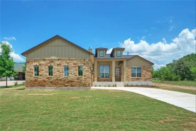 Spicewood Single Family Home For Sale: 312 Kendall Rd