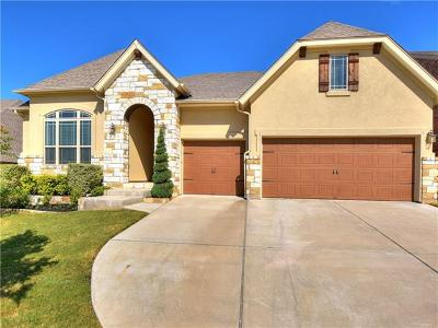 Georgetown Single Family Home For Sale: 109 Brantley Lake Ln