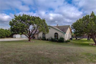 Dripping Springs Single Family Home For Sale: 1053 Canyon View Rd