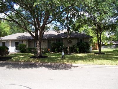 Round Rock Single Family Home For Sale: 515 Heather Dr