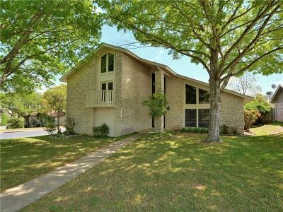 Austin Single Family Home For Sale: 2407 Apple Valley Cir