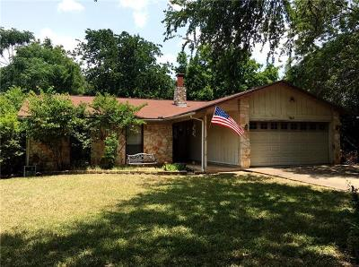 Cedar Park Single Family Home For Sale: 1602 Plateau Rdg