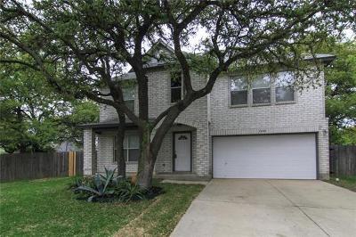 Cedar Park Single Family Home Pending - Taking Backups: 1406 Hangtree Cv